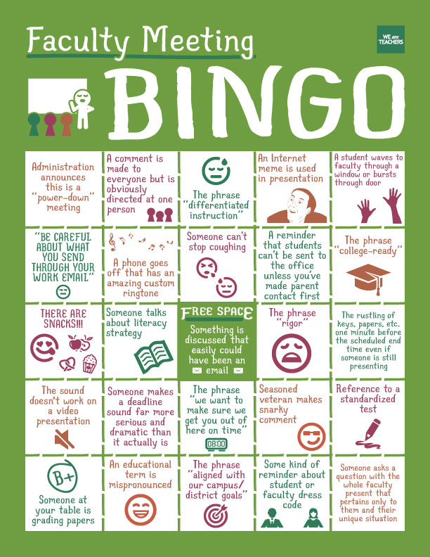faculty-bingo